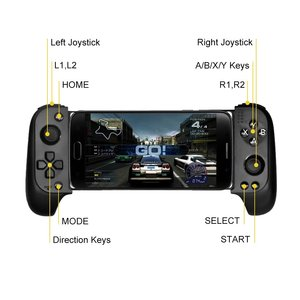 Image 2 - Saitake 7007F Wireless Gamepad Bluetooth Game Controller for Huawei Xiaomi Android Phone TV iPhone Telescopic GamePads Joystick