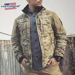 Emersongear, chaqueta térmica para hombre, chaqueta cortavientos de invierno cálido, estilo táctico, abrigo de conducción al aire libre, ropa de abrigo SoftShell