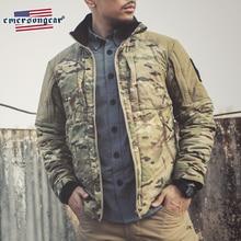 Мужское теплое пальто Emersongear, зимняя теплая ветровка с подогревом, тактическое стильное уличное пальто для верховой езды, мягкая верхняя одежда