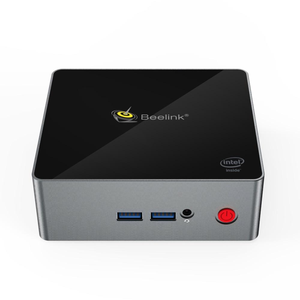 Beelink J45 Win10 Mini PC Intel Pentium J4205 DDR3L 8G SSD 128GB Dual Screen Display  Support HDD Gigabit LAN Desktop Mini Pcs