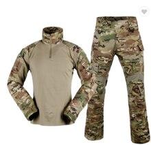 Tactical Uniform BDU G3 Combat Update Ver Camo Airsoft Military Combat Uniform CS Game Airsofr Tactical Military Army Uniform