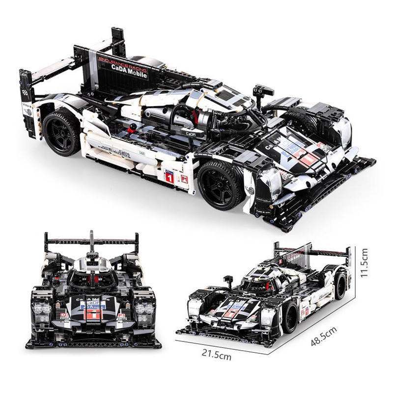 Car-Building-Blocks Bricks Educational-Toys Racer Technic Cada Sports Super-Racing Vehicle