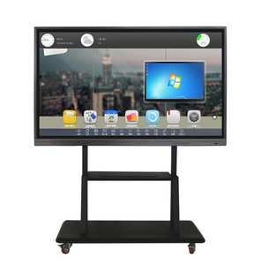 Whiteboard Television Interactive-Touch-Screen Electronic with LED 65 PC Built-In 55