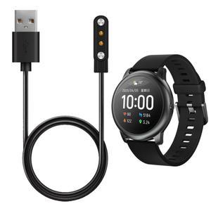 Reloj inteligente Cable de carga para Haylou solar LS05 Smartwatch USB cargador magnético pulsera inteligente pulsera parte accesorio de reloj
