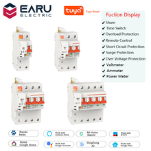 Meter Switch Circuit-Breaker Voltage-Monitor TUYA Power-Energy-Consumption Smart-Wifi