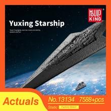 Gwiezdne wojny wykonawca UCS gwiezdny niszczyciel zestaw kompatybilny Lepins MOC 15881 10221 klocki dla dzieci zabawki świąteczne prezenty