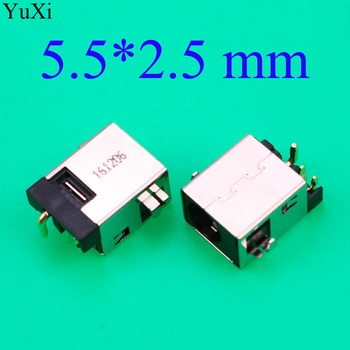 YuXi 5.5*2.5mm /5.5x2.5mm Laptop DC Power Jack Connector DC Socket Plug Connector Port Suitable For ASUS Power interface 10pcs dc power jack connector power harness port plug socket for samsung np300 np300e4c 300e4c np300e5a np300v5a np305e5a