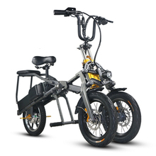 Best selling 14 inch scooter electric tricycle/folding tricycle for adult