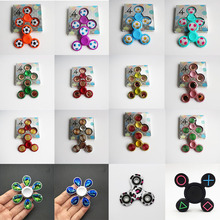 Fingertip Gyro Spinner ADHD Autism Hand-Fidget Stress-Relief EDC Anxiety for Focus Football-Pattern