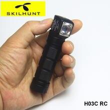 Skilhunt h03c rc 18650 Магнитный перезаряжаемый Головной фонарь