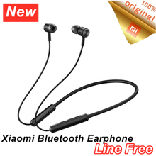 Xiaomi mi Bluetooth Earphone Line Free aptX Adaptive Sports Neckband Magnetic Wireless Earbuds DSP+cVc IPX5 Waterproof Headphone