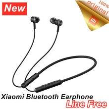 Xiaomi mi fone de ouvido wireless, fone de ouvido esportivo xiaomi mi aptx com faixa sem fio, magnética dsp + cvc ipx5 à prova d' água