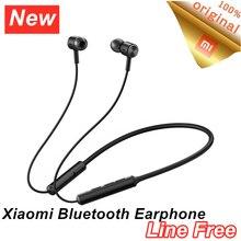 Xiaomi mi fone de ouvido wireless, fone de ouvido esportivo xiaomi mi aptx com faixa sem fio, magnética dsp + cvc ipx5 à prova d água