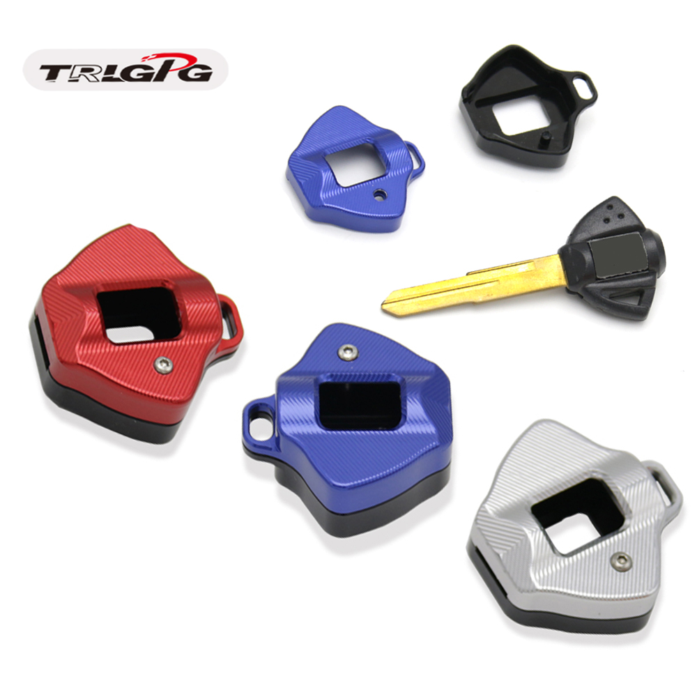 motorcycle key accessories decorative CNC key cover FORSUZUKI GSXR600 GSXR75 <font><b>GSXR1000</b></font> K1 K2 K3 K4 K5 K6 <font><b>K7</b></font> K8 K9 GSXR1300 image