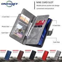 Custodia Flip in pelle di lusso per Samsung Galaxy J3 J5 J4 J6 A6 A8 Plus J8 J2 Pro EU A7 2018 A5 A3 2017 2016 2015 Cover per telefono a portafoglio