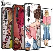 BEST FRENDS Anti-fall Phone Case for Xiaomi Mi 10 Lite 9T CC9 Pro Note 10 9 8 A3 A2 A1 Lite Mix 3 Back Cover frends 1kg