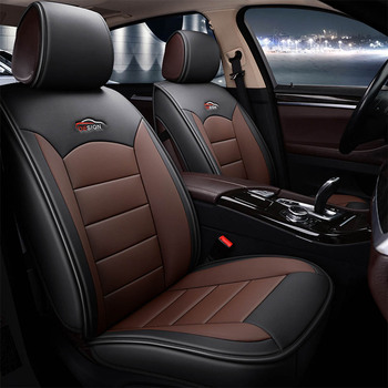 Hot Quality Universal Leather Car Seat Covers for Toyota Camry Corolla CHR RAV4 Prius Auto Interior Protector Accessories
