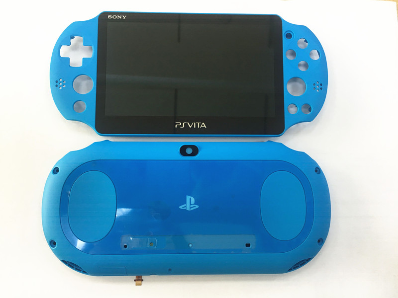 Original New Lcd <font><b>Screen</b></font> Display With Frame + Back Cover Replacemnt For PSvita <font><b>PS</b></font> <font><b>vita</b></font> PSV <font><b>2000</b></font> image
