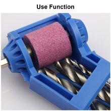 Blue or Orange Corundum Grinding Wheel Bit Tool Portable Drill Bit Sharpener Twist Drill Bit Sharpening machine 2-12.5mm