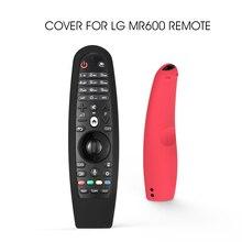LG AN MR600 용 LG AN MR650 AN MR18BA 19BA Magic Remote Control Cases 스마트 OLED TV 보호 콘솔 실리콘 커버 세척 가능