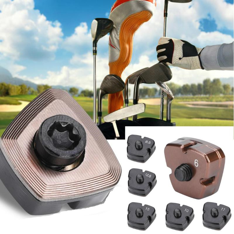 1Pc 6/8.5/10/12.5/15/17g Golf Club Head Weight  Golf Course Wood Screw Head Covers Outdoor Sports Golf Club Accessories Pxg Golf