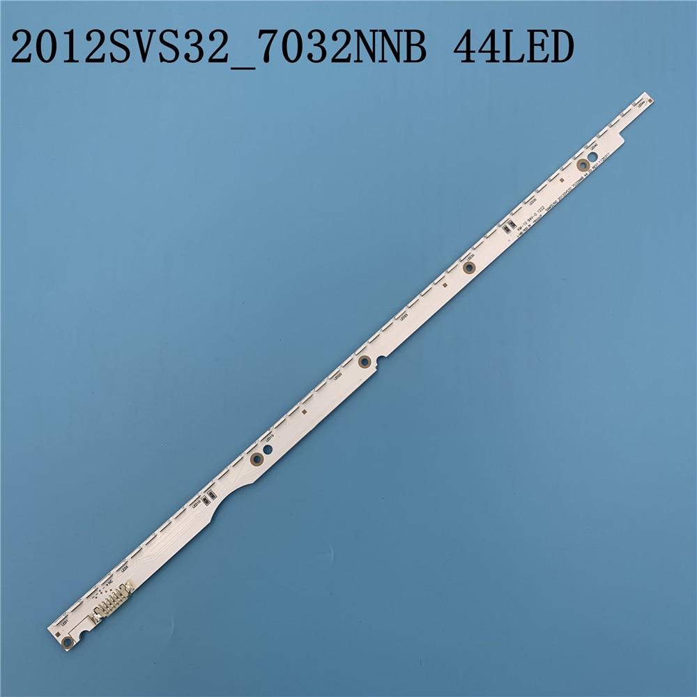3V 32 Inch LED Backlight Strip For Samsung TV 2012SVS32 7032NNB 2D V1GE-320SM0-R1 32NNB-7032LED-MCPCB UA32ES5500 44LEDs 406mm