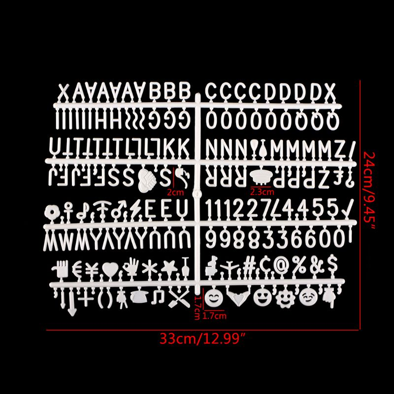 Characters For Felt Letter Board 360 Piece Numbers For Changeable Letter Board AXYF