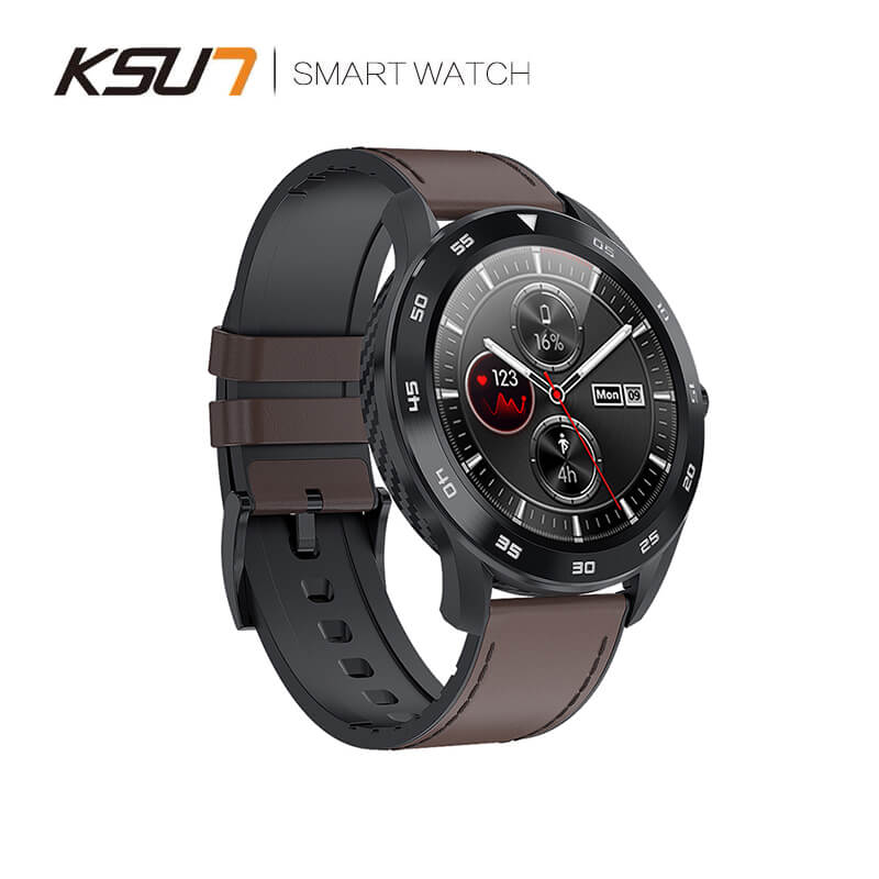 KSUN KSR909 Smart Watch Waterproof IP68 1.3 Full Round HD Screen ECG Detection Changeable Smartwatch 4G Reloj Smart Bracelet|Smart Watches| - AliExpress