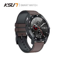 KSUN KSR909 Smart Watch Waterproof IP68 1.3 Full Round HD Screen ECG Detection Changeable Smartwatch 4G Reloj Smart Bracelet(China)