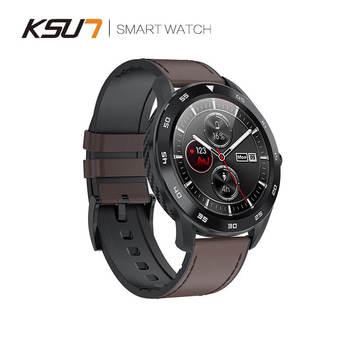 KSUN KSR909 Smart Watch Waterproof IP68 1.3 Full Round HD Screen ECG Detection Changeable Smartwatch 4G Reloj Smart Bracelet