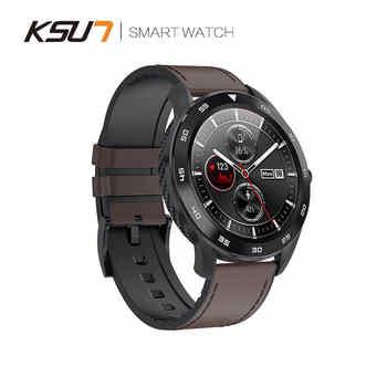 Reloj inteligente KSUN KSR909 resistente al agua IP68 1,3 pantalla Full Round HD detección ECG Reloj inteligente 4G Reloj inteligente pulsera