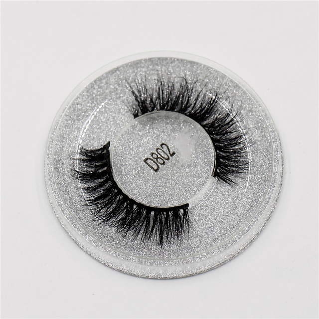 AMAOLASH 3D Mink Lashes Cruelty Free Mink False Eyelashes Natural Handmade Eyelash Extension Makeup Fake Eye Lashes 3