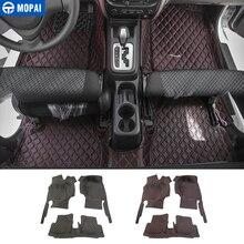 MOPAI alfombrillas de cuero para Interior de coche, alfombrillas, almohadillas para los pies, para Suzuki Jimny, accesorios para coche