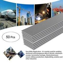 Алюминиевый припой 2 мм* 50 мм низкая температура чистый алюминиевый сварочный провод нет необходимости порошковый припой для пайки алюминия