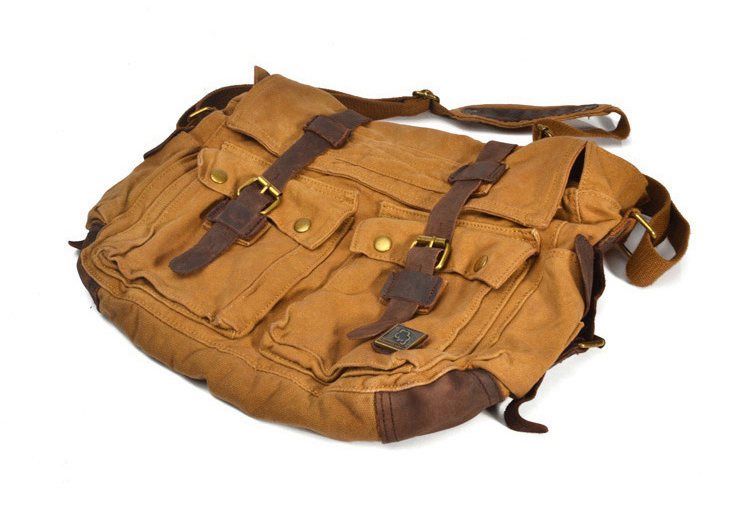 Image 5 - I AM LEGEND Will Smith military canvas   Genuine leather Men  messenger bag canvas shoulder bag men Crossbody Bag Casual Bag 2020bag  exchangebag towelbag england