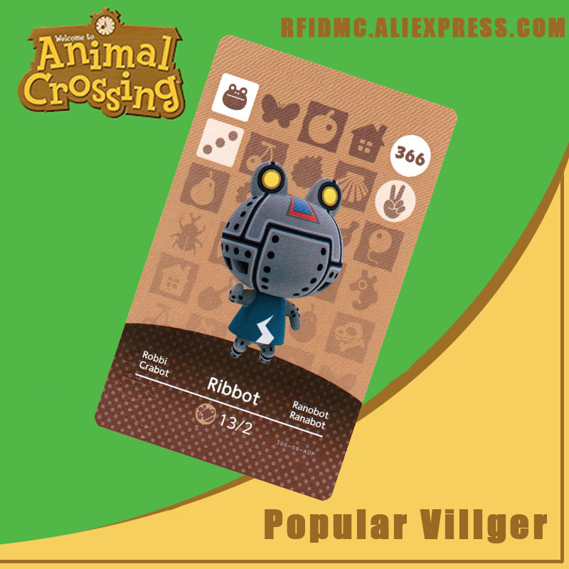 366 Ribbot Animal Crossing Card Amiibo For New Horizons