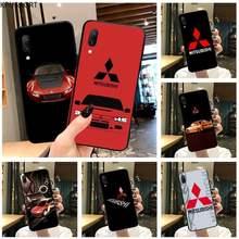 Mitsubishi Caso Soft Phone Capa Para Vivo Y91c KPUSAGRT Y17 Y51 Y67 Y55 Y7s Y81S Y19 V17 vivo s5