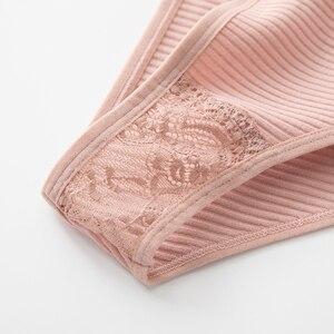 Нижнее белье женское, удобные трусы с низкой посадкой, 3 шт./лот/набор