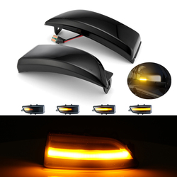 LED Dynamic Turn Signal Wing Rearview Mirror Sequence Light For Ford Everest 2015-2019 Ranger T6 Raptor Wildtrak Indicator Light