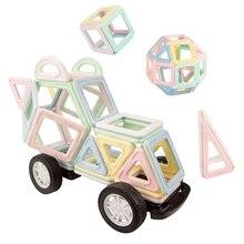 Magnetic Designer Construction & Building Toys 110PCS Big Size Magnetic Blocks Magnets Building Blocks Toys For Children