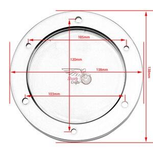 Image 2 - אופנוע חלקי כרום חריטה דרבי מכסה מנוע גלגל מכון משמר עבור סוזוקי דרות M109R VZR1800 אינטרודר M1800R 2006 2019