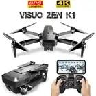 Новый VISUO K1 gps бесщеточный двигатель Радиоуправляемый Дрон 5G wifi 4K двойная HD камера время полета 28 минут складной Квадрокоптер VS MJX B4W игрушки ...