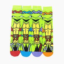 Повседневные носки с забавным мультяшным принтом модные забавные