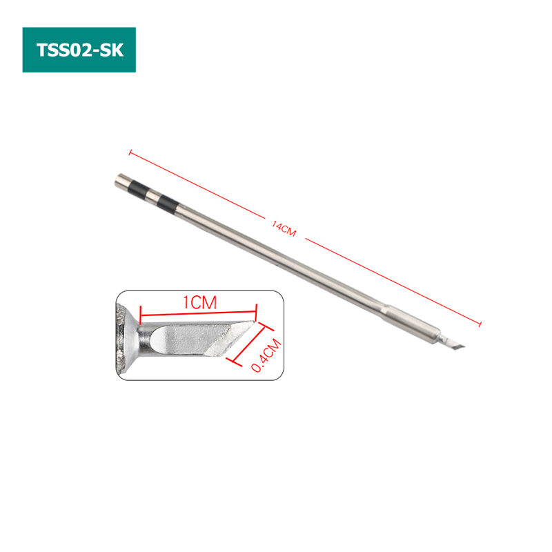 TSS02 Solder Tips for QUICK TS1200A Lead-free Soldering Station TSS02-SK TSS02-K TSS02-3C TSS02-I TSS02-J TSS02-1C TSS02-2C 5