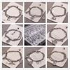 Stainless Steel Bracelet To Restore Ancient Road Boys and Girls Hip Hop Multi-layer BRACELET Metal Bracelet