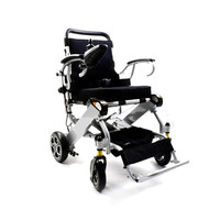Free shipping power lithium battery foldable disable electric wheelchair with controller