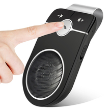 Bluetooth Handsfree Visor Car Kit, Wireless Device In Hands-Free Speakerphone Kits For Iphone Samsung SIRI BZ01