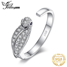 JPalace Parrot Birds Cubic Zirconia Rings 925 Sterling Silver Rings for Women Stackable Ring Silver 925 Jewelry Fine Jewelry д васильев ветеринарная герпетология