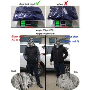 Image 5 - Erkekler kalın ceket Yeni Serin Erkekler sıcak tutan kaban Amerikan Kabadayı Cins Üstleri Serin kalın hoodie adam marka üstleri kalın hoody sbz5073