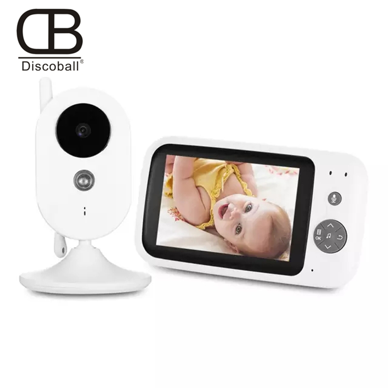 Vigilabebe Video Baby Monitor 2.4G Wireless 3.5 Inch LCD 2 Way Audio Talk Night Vision Surveillance Security Camera Babysitter